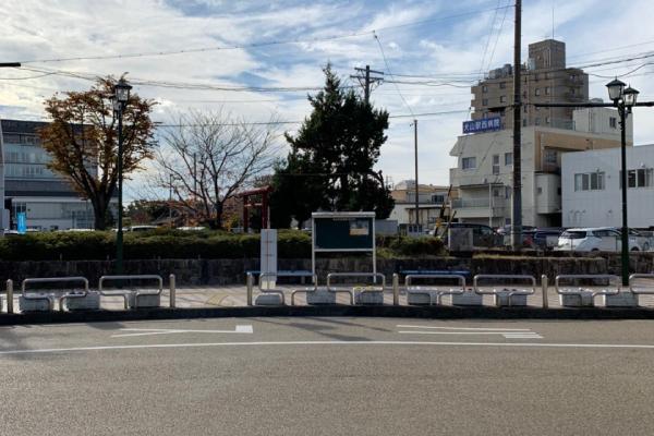 名鉄犬山駅<br>西ロータリー