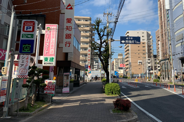 JR春日井駅<br>愛知銀行前