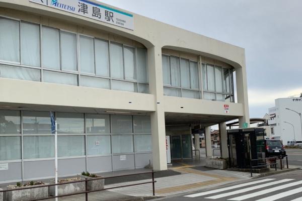 名鉄津島駅<br>バスターミナル
