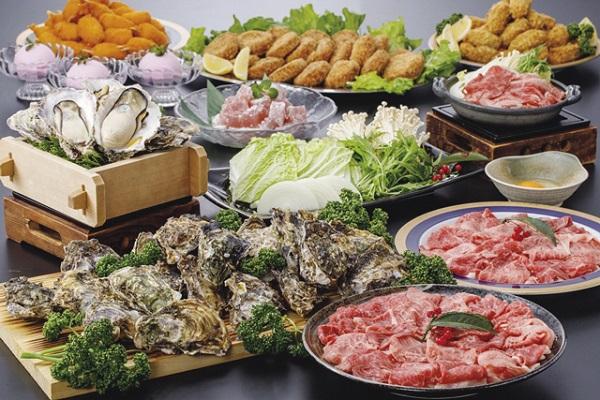 [日帰り]松阪牛&浦村かき食べ放題 と ブルーメの丘