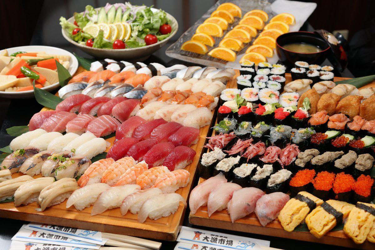 職人の寿司食べ放題&富士山清水みなとクルーズ