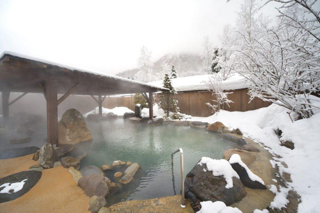 [宿泊]厳冬の雪国に広がる白銀の景観美 平湯温泉【Go to トラベル対象】