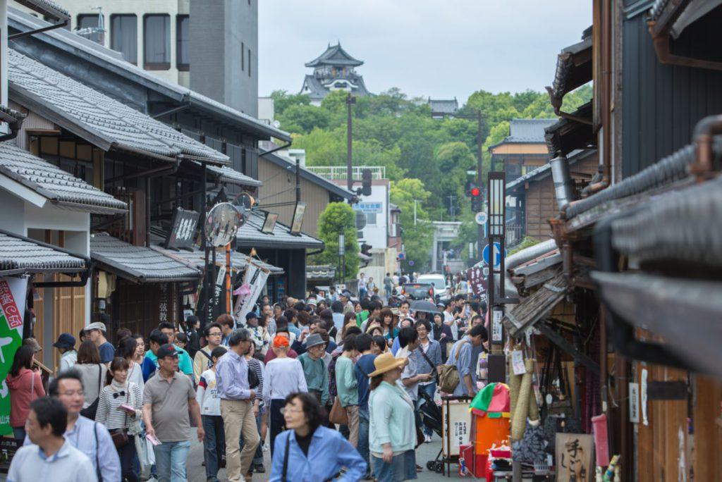 [日帰り]犬山おもしろ食べ歩きとHisaya-odori Park