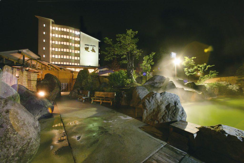 [宿泊]『日本屈指の山岳景勝地 上高地・標高2,156mの雄大な自然の絶景 新穂高ロープウェイ『焼岳温泉』